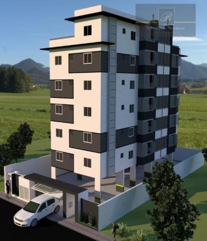 Apartamento com 2 dormitórios à venda, 55 m² por R$ 182.524 - Santa Catarina - Joinville/S