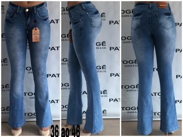 980d8d7bb Calças Jeans Feminina Patogê Mega Promoção(Atacado 36-46) - Roupas e ...