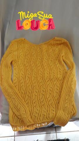 7369e3875f62 Linda blusa de crochê - Roupas e calçados - Colônia Terra Nova ...