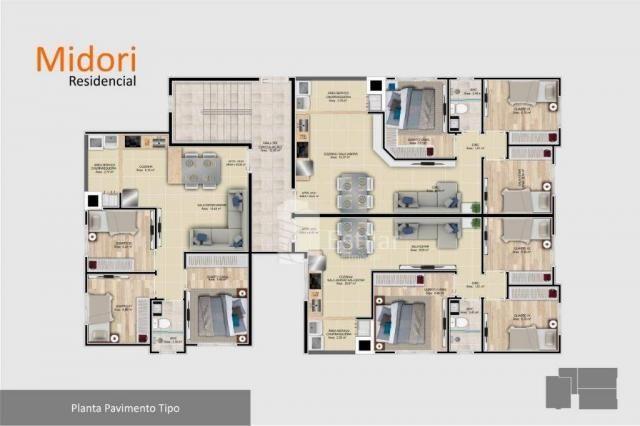 Apartamento com 3 quartos no afonso pena - são josé dos pinhais/pr - Foto 10