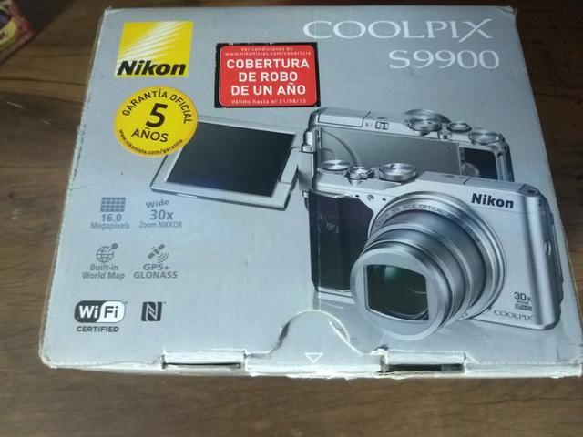 Câmera Digital Superzoom Nikon Coolpix S9900 - Áudio, TV