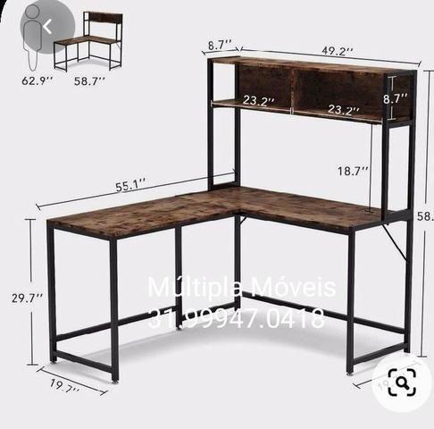 Móveis estantes mesas. estilizados ou sob medida - Foto 3