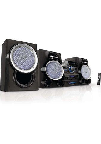 Mini sistema Philips CD, USB, rádio 800 RMS  - Foto 2