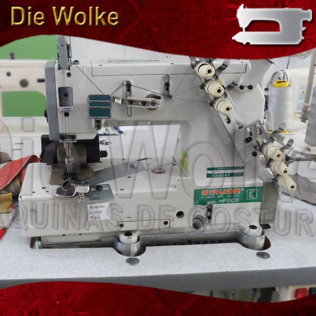 Fechadeira Plana 3 agulhas - Máquina de Costura Usada