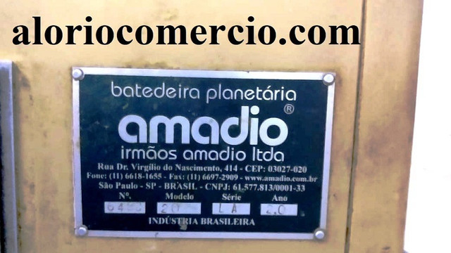 Batedeira Amadio 20 lts. Seminova - Foto 4