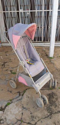 Carrinho de bebê menina Galzerano  - Foto 2