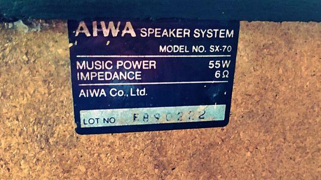 Caixas de som passivas Aiwa SX70 - Foto 4