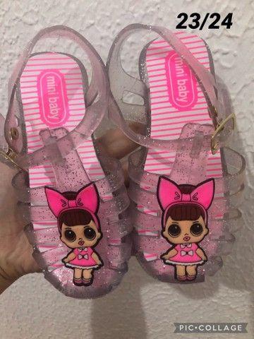 Promoção sandálias infantil  - Foto 3