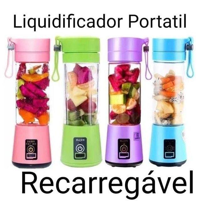 Liquidificador Portátil Recarregável