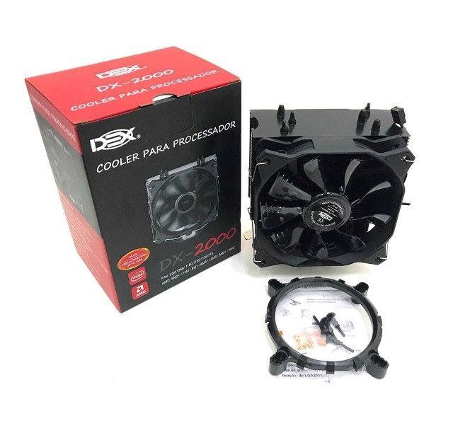 Cooler Gamer para processador Dex DX-2000 Intel ou AMD - Foto 4