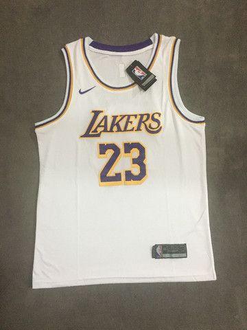 Camisa Regata Basquete Lakers