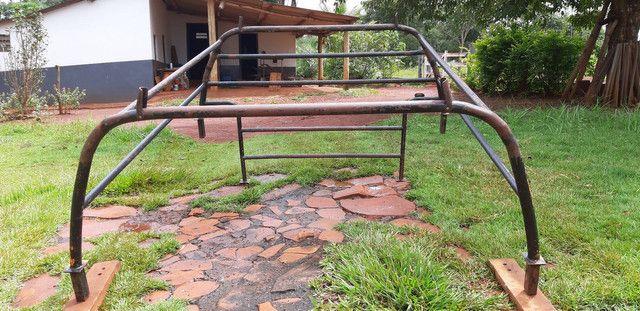Grade de ferro carroceria C20, D20 - Foto 3