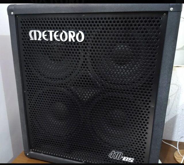 """Caixa Baixo Meteoro 410 BS 4 X 10"""" 200 WRMS<br><br>"""