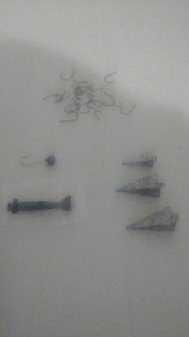 Kit completo vara de pesca linha Morinete e brinde - Foto 5
