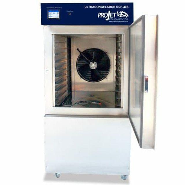 Dosadora de pão de queijo DP-19 smart e ultra congelador UCP-40s  - Foto 2
