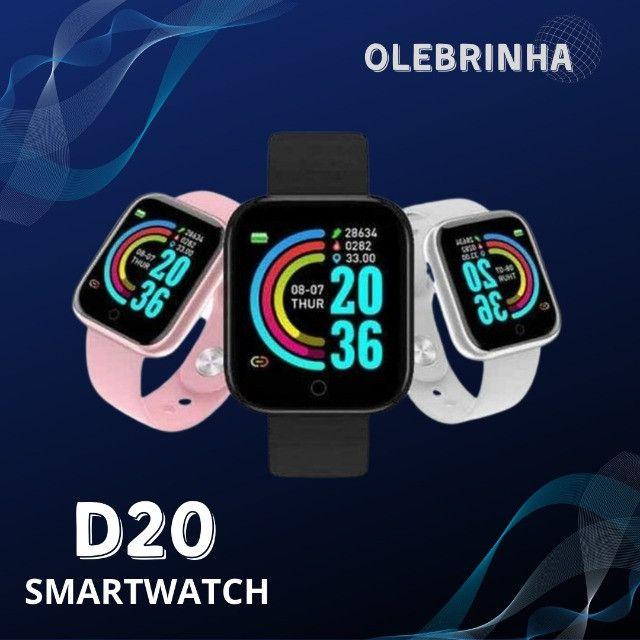 Smartwhatch D20 - Relógio inteligente