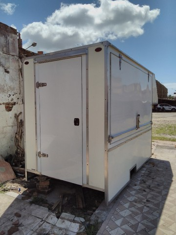 carroceria  trailer food truck lanches  - Foto 2