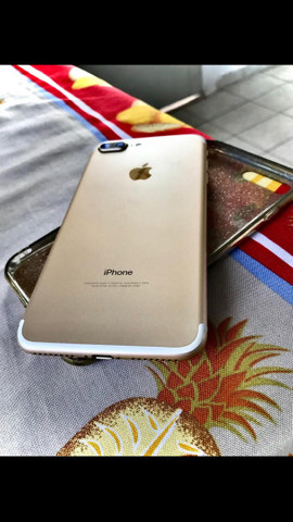 Troco iPhone 7 Plus 128gb por menor com volta  - Foto 2