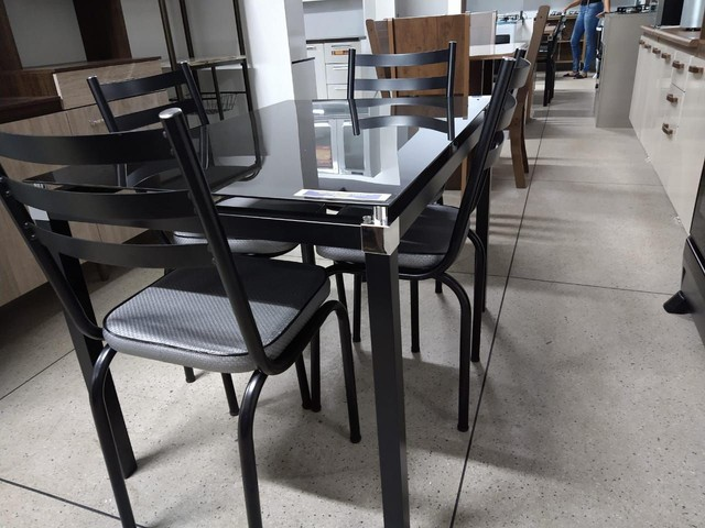 Mesa de 4 Caideras Nova