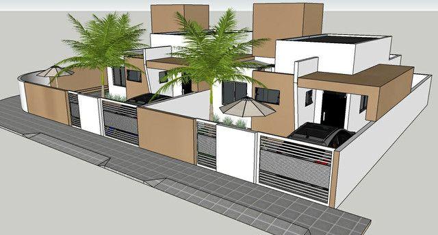Casa solta de esquina, 3 qts, com piscina! - Foto 4