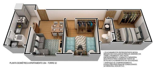 Venha morar no melhor do passaré com lazer completo 2 quartos e elevador. - Foto 10