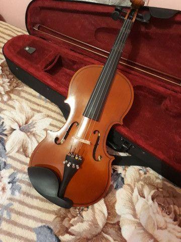 Violino 4/4 por R$300 - Foto 2