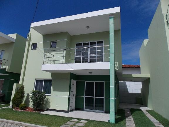 Excelente Casa Duplex de 04 suítes com Closet em condomínio fechado - Pitangueiras- Lauro