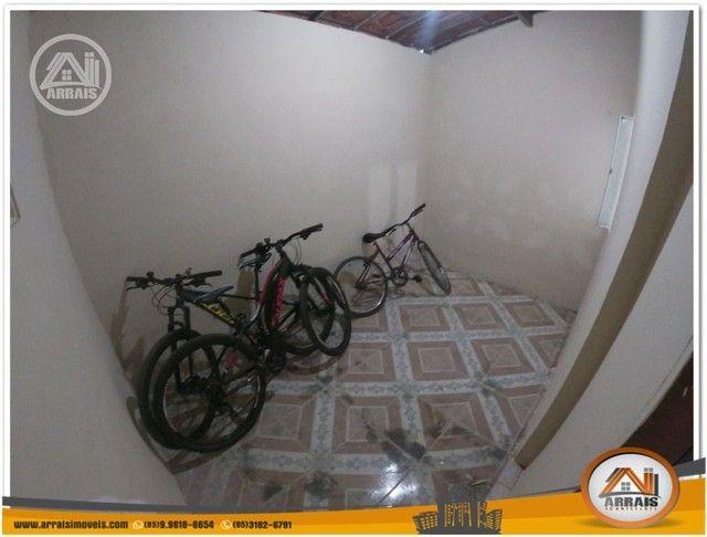 Casa com 3 dormitórios para alugar, 90 m² por R$ 900,00/mês - Vila União - Fortaleza/CE - Foto 7
