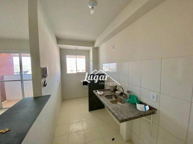 Apartamento com 2 dormitórios para alugar por R$ 900,00/mês - Jardim Morumbi - Marília/SP - Foto 3