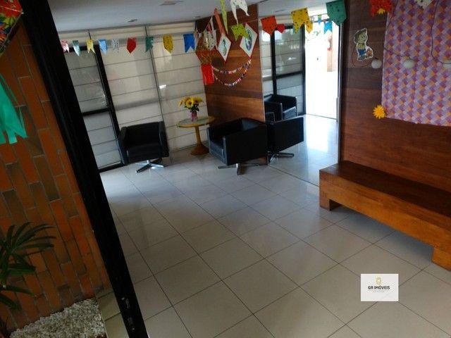Apt 154 m², 2 quadra da praia da Jatiúca 3 quartos2 suítes varanda em todos os quartos só  - Foto 4