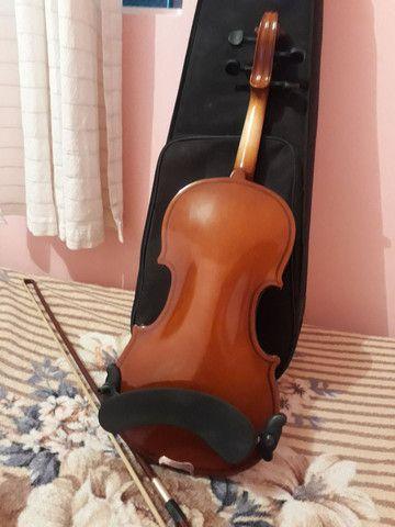 Violino 4/4 por R$300 - Foto 4