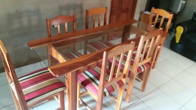Mesa de 6 cadeira