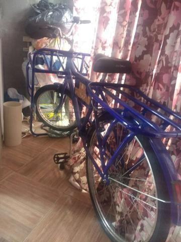 Vendo bicicleta cargueira NUNCA usada