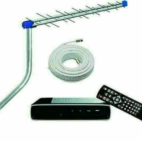 Instalador de Antena digital e conversor