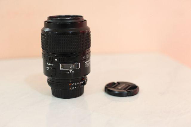 Lente Nikon Nikkor 105mm f 2.8d Micro Macro
