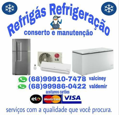 Conserto e Manutenção de geladeiras e freezers