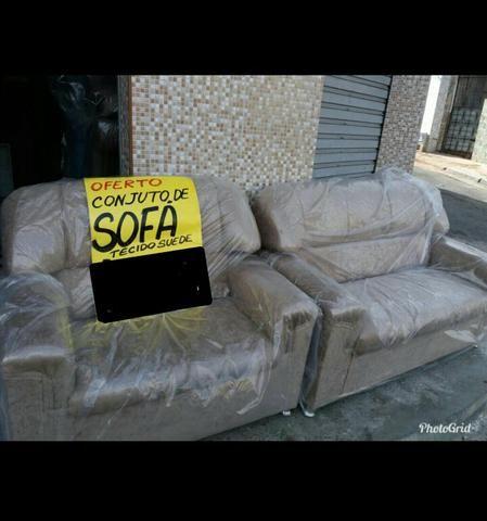 Conjunto de sofá direto da fábrica 2 e 3 lugares