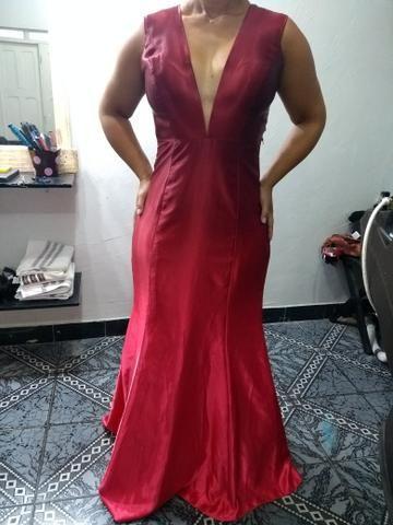 Vestido de festa vermelho Novo