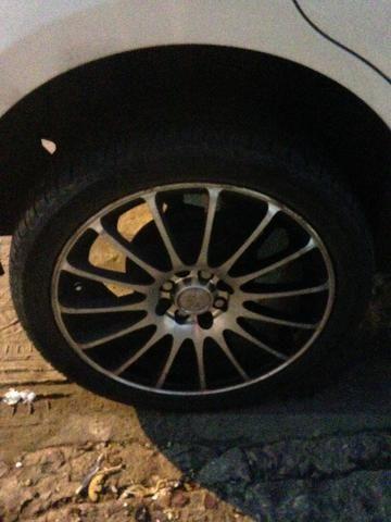 Troco pneu aro 17 por pneu aro 14 fiat