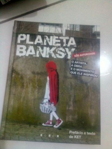 Livro Planeta Banksy - Graffiti