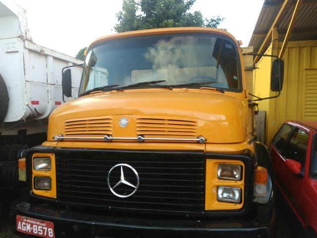 Caminhao Mercedes Benz1513 1982 truck turbo