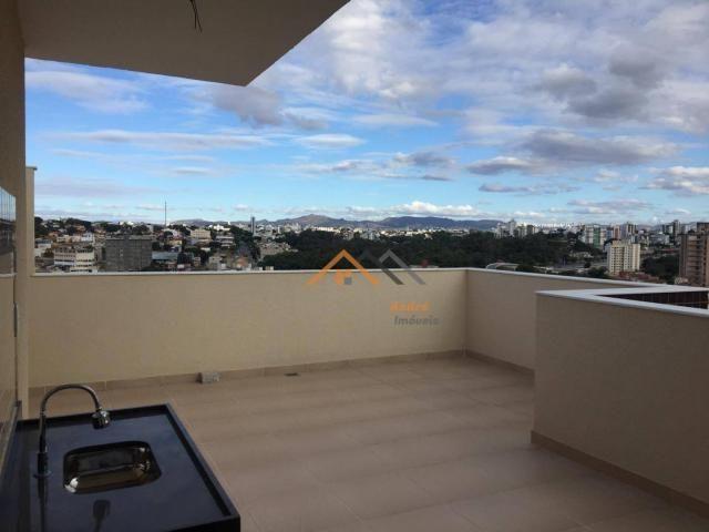 Cobertura com 2 quartos à venda, 50 m² por R$ 329.000 - Sao Joao Batista - Belo Horizonte/ - Foto 4