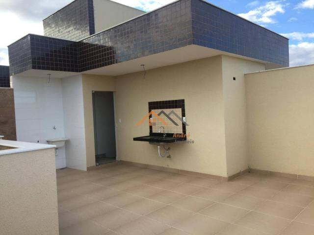 Cobertura com 2 quartos à venda, 50 m² por R$ 329.000 - Sao Joao Batista - Belo Horizonte/