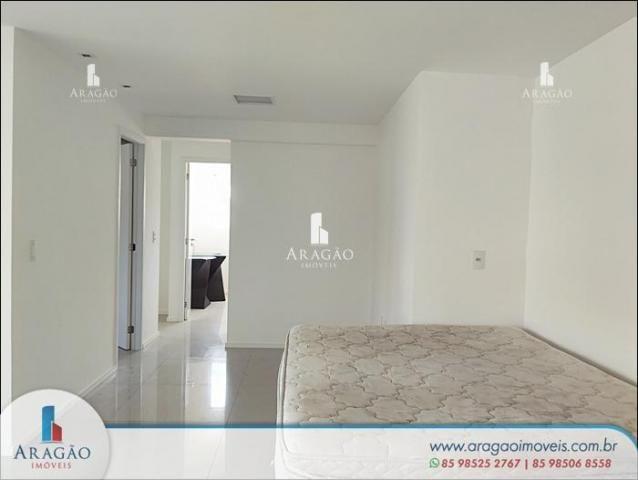 Apartamento com 3 dormitórios à venda, 121 m² por r$ 800.000,00 - aldeota - fortaleza/ce - Foto 5