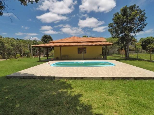 Chácara dos sonhos c/ casa de 3 quartos, piscina e área de 1000 m²,600 m da praia - Foto 8