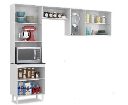 Belissimo Armario Aerio Compacto Perfeito Para Apartamento ou Cozinha Pequena 499,00 - Foto 3