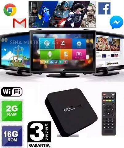 Promoção Tv Box MXQ 2GB Ram 16Gb HD 4K Ultra Hd