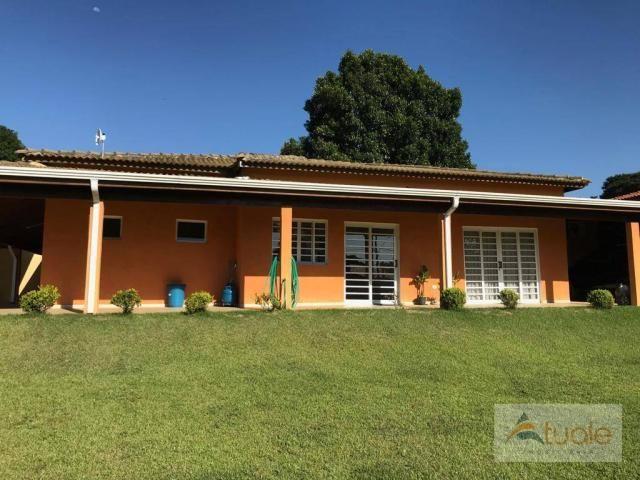 Chácara com 6 dormitórios para alugar, 1354 m² por r$ 5.000,00/mês - chácara recreio alvor - Foto 7