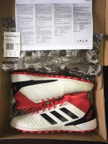 b7ce9e06ea Chuteira Adidas Predador Tango 18.3 Tf - Society N° 42 - Esportes e ...