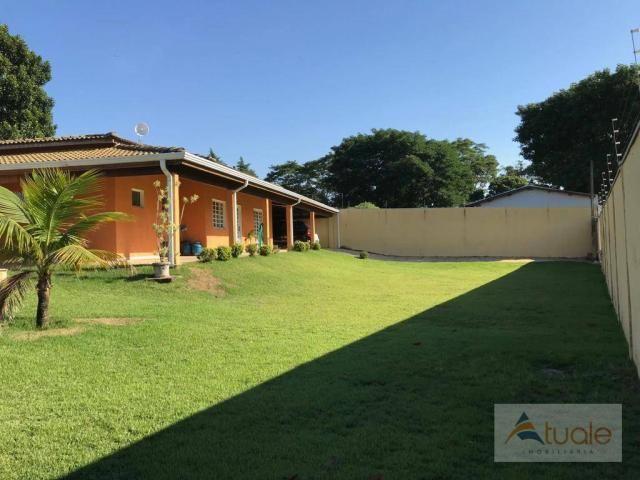 Chácara com 6 dormitórios para alugar, 1354 m² por r$ 5.000,00/mês - chácara recreio alvor - Foto 2